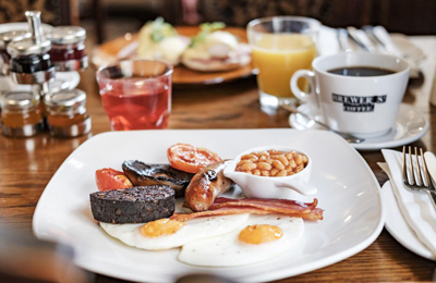 The Chamberlain Hotel Tower Hill London - English breakfast